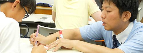 神奈川県二宮にある小学生、中学生、高校生の学習塾|ペンシルゼミナール二宮校|Tわかるまでやる!親身な指導イメージ