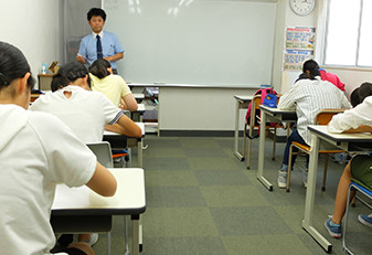 ペンシルゼミナール二宮・中学生の夏期講習
